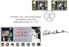 RICHARD 'Dick' GORDON Signed Ltd Ed. FDC APOLLO 12 Moon Landings COA