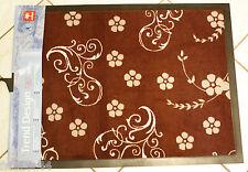 Schmutzfangmatte Fußmatte ASTRA Trend Design 60x80 Ornament braun Türmatte