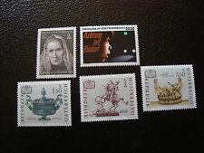 AUTRICHE - timbre - yvert et tellier n° 1182 a 1186 n** - stamp austria (A3)