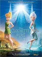 Affiche 120x160cm CLOCHETTE ET LE SECRET DES FÉES 2012 Walt Disney animation NEU