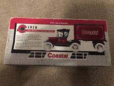 ERTL 1918 Ford Runabout Tractor Trailer Diecast Metal Bank Coastal w/ Box NEW!!