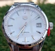 Tag Heuer Ladies Carrera New / Unworn/ 2 Yr Warranty, Mother of Pearl, RRP £1750