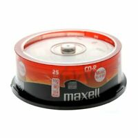 Maxell Audio CD-R 80 Minuti Music XL2 48x in campana da 25 pezzi 628529.40.TW