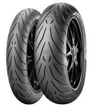Satz Pirelli Angel GT 180/55 ZR17 73W + 120/70 ZR17 58W Motorradreifen Set Paar