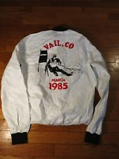 VTG 1985 Vail Bridgestone Pro Skiing World Championship Grand Prix Jacket S M