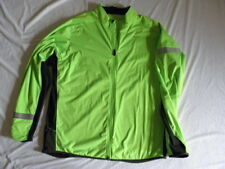 Nike DriFit ThermaFit running jacket stylish comfortable green yellow 2XL XXL