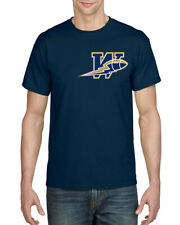 WINNIPEG BLUE BOMBERS CFL TEAM THROWBACK LOGO T-SHIRT, NEW