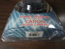 CANON QUANTARY TRAVEL CHARGER FOR DIGITAL CAMERAS - MODEL RTC-500 - NB1-2-3-5L
