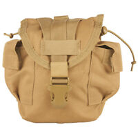 NEW Military Style Tactical Survival MOLLE 1 qt Canteen Cover Pouch COYOTE TAN