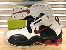 1cbf843feae6a5 Nike Shox Elite White Black Red Bred 04 Retro Shoes Vince Sz 11.5 ( 309267-