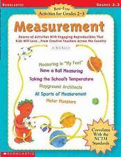 Best-Ever Activities for Grades 2-3: Measurement: Dozens of Activities With Enga