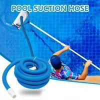 9M Swimming Pool Vacuum Cleaner Hose Suction Replacement Pipe UK C3A0 V1R5 D5X6