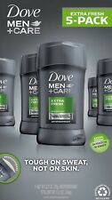 5 pack Dove Men Care Antiperspirant Deodorant Extra Fresh Scent 2.7 oz.