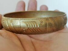 Extremely Rare Ancient Bracelet Bronze Viking Artifact Authentic Amazing