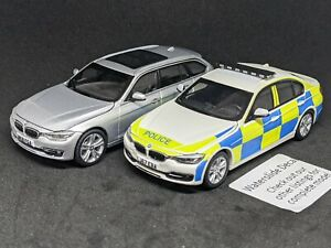 1/43 Generic British UK Police Decal for Paragon BMW 3 Series READ