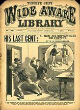 317 Wide Awake Library Dime novels
