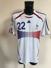 Maillot Foot Ancien Vintage Equipe De France 2006 Numero 22 Ribery Taille XL