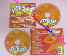 CD FESTIVALBAR COMPILATION ROSSA 2005 britti negramaro planet funk negrita(C15*)