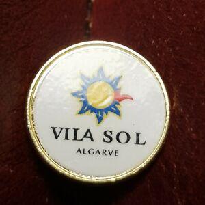 Vila Sol Golf Ball Marker (Vintage Brass)