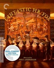 CRITERION COLLECTION: FANTASTIC MR FOX (3 disc) - BLURAY - Region A - Sealed