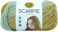 Lion Brand Scarfie Yarn-Ice/Gold