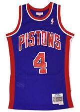 Detroit Pistons Joe Dumars Swingman Jersey Throwback Blue S