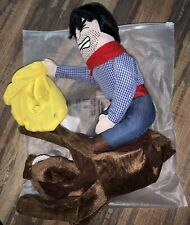 Dog Costume Pet Costume Pet Suit Cowboy Rider Style Medium