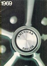 American Motors 1969 UK Market Brochure Rambler Rebel Javelin AMX Ambassador