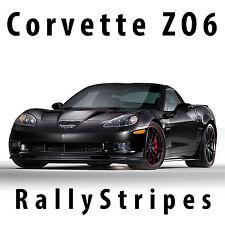 Chevrolet Corvette Z06 C6 Racing Stripes Center Decal Kit Pre-cut 2005-2013