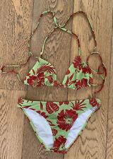 Roxy Hibiscus XL Green Bikini