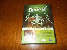 DVD VICTOR VICTORIA - I GRANDI MUSICAL ITALIANI  SANDRO MASSIMINI