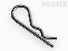 Bridge Hitch Hair Pin Clip 3/32 x 1-5/8 MB Spring Wire ZC (400 Pieces)