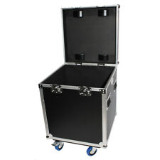 Utility Trunk ATA Road Case w/ Casters - Rubber Lined - for Cables DJ & More