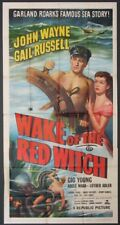 WAKE OF THE RED WITCH JOHN WAYNE 1948 3SHT.