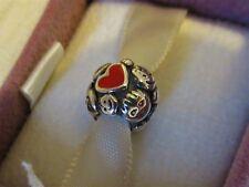Genuine Pandora THE FAMILY TIES Danmarks Indsamling Charm 09 Very Rare Pristine