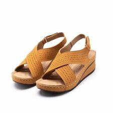 Women Sandal Wedge Heel Gladiator Summer Shoe Plus Size Female Sandalias Mujer