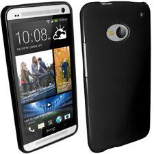 Fundas y carcasas Para HTC One color principal negro para teléfonos móviles y PDAs HTC