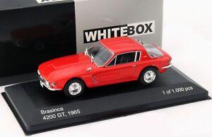 WBX102 - Voiture sportive BRASINCA 4200 GT de 1965 couleur rouge -  -