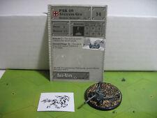 Axis & Allies Set 2 II PAK 40 Antitank Gun with card 28/45