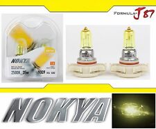 Nokya 2500K Yellow P​S24W 5202 H16 Nok7689 35W Two Bulbs Fog Light Replacement