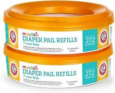 Munchkin Diaper Pail Refills, 2 Pack