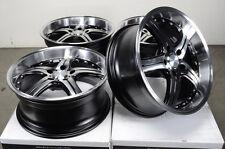 18 5x112 Rims Polished Lip Fits Deep Dish Mercedes S500 S430 S350 Alloy Wheels