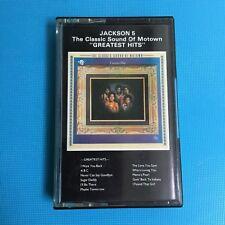 Jackson 5 - The Classic Sound Of Motown (Rare Cassette Tape)