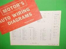 1963 1964 1965 1966 1967 PLYMOUTH VALIANT BARRACUDA DODGE DART WIRING DIAGRAMS