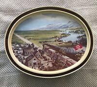 1982 LIMITED Edition Train Tin Lithograph ACROSS THE CONTINENT Sunshine Biscuits