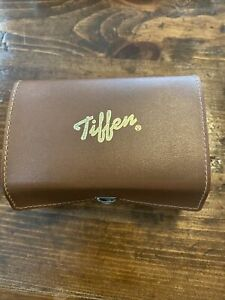 RARE NEW IN BOX VINTAGE TIFFEN SERIES 6 METAL LENS HOOD SHADE -USA Leather Case