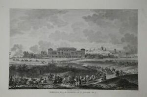 Bataille D`Heliopolis, 1800. Napoleon. Copperplate From Couche. Ca 1850