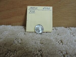 1944 D Mercury Head Silver Dime Uncirculated