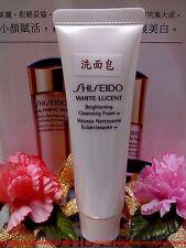 "Shiseido White Lucent Brightening Cleansing Foam w ◆( 30ml/1oz )◆"" FREE POST! """
