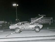 "8 x 10"" Don Nicholson Racing at Detroit Dragway Made from Negative"